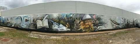 Talented artist. Fantastic work. Beautiful location.