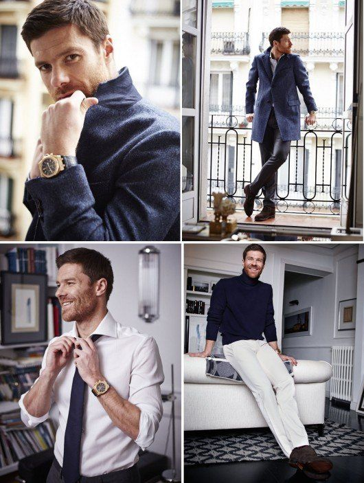 #WorldCup2014 ~ Spain's Xabi Alonso's #MensFashion ~