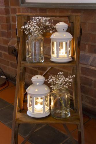 Hatherley-Antique-Wooden-Vintage-3-Step-Ladder-Shop-Window-Wedding