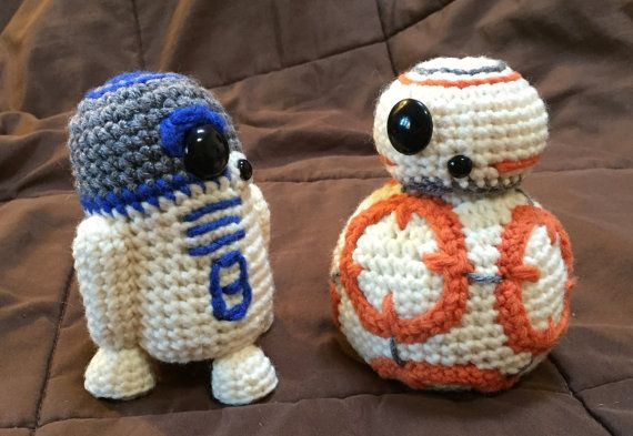 BB8 AND R2D2 Star Wars Inspired Crochet Patterns 2 by luvbug026
