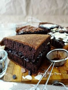 Citra's Home Diary: Martabak Manis Brownis (Indonesian style thick chocolate pancake)