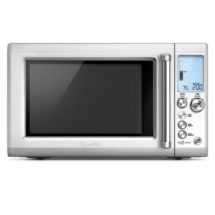 Breville Breville The Quick Touch Microwave Oven Perigold In 2020 Built In Microwave Countertop Microwave Microwave Oven
