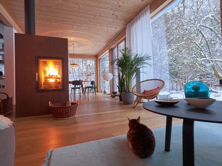 281 besten Kamine Kaminöfen Bilder auf Pinterest Kamine - offene feuerstelle wohnzimmer