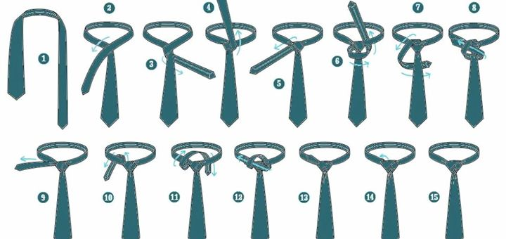 Это видео научило уже почти 2 млн людей завязывать галстук! - http://pixel.in.ua/archives/9381