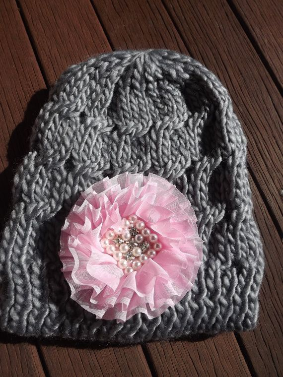 Beautiful handcrafted Embellished Beanies by MelsMadewithlove, $20.00
