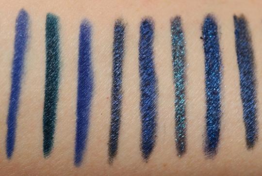 Navy Blue Eyeliners