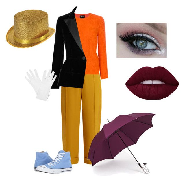 """""""Disney #4 (Jiminy Cricket)"""" by aaliyahd7 ❤ liked on Polyvore featuring Chloé, Calvin Klein 205W39NYC, Oscar de la Renta, Converse, Gizelle Renee and disneycharacter"""