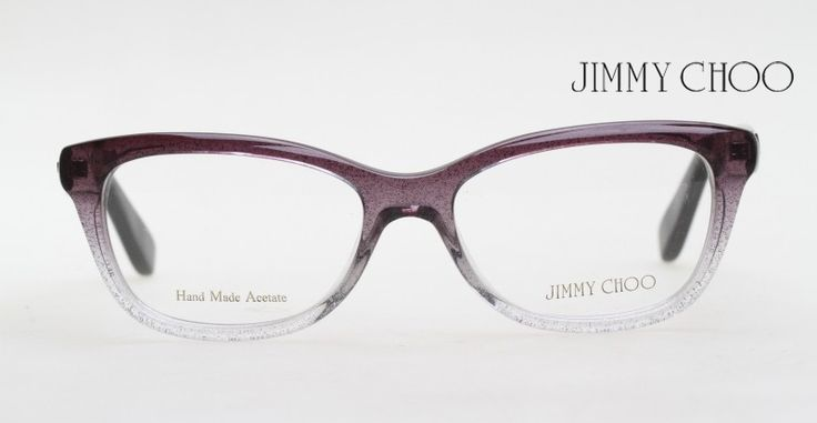 it is hard to see but it is a black crystal gradient with silver glitter jimmy choo optical frame f jo 87 2py 51 pinterest
