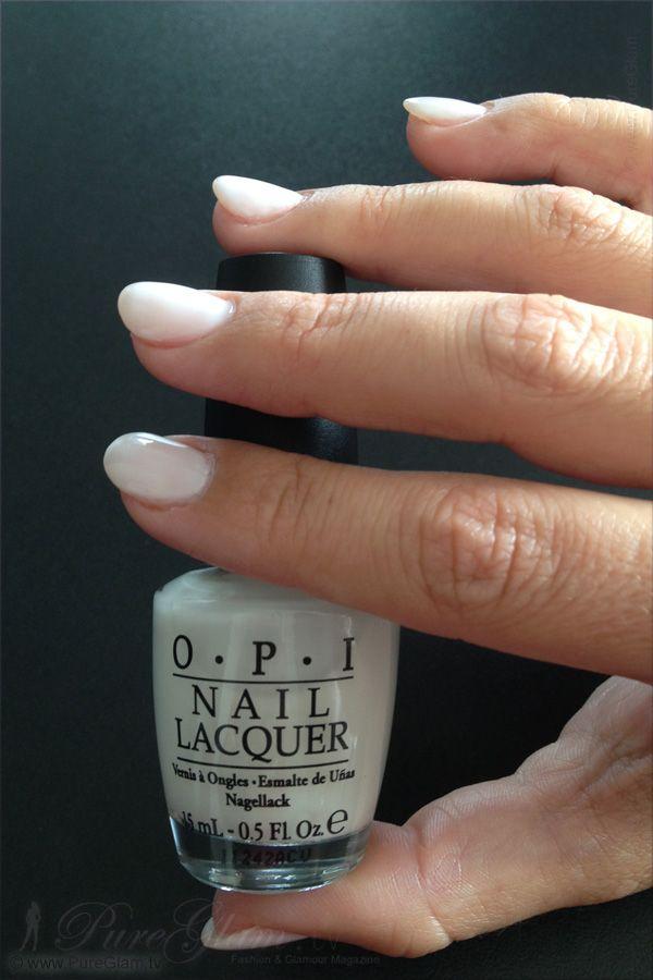 New OPI Nail Polish – Funny Bunny NL H22 and Rapi Dry – white color
