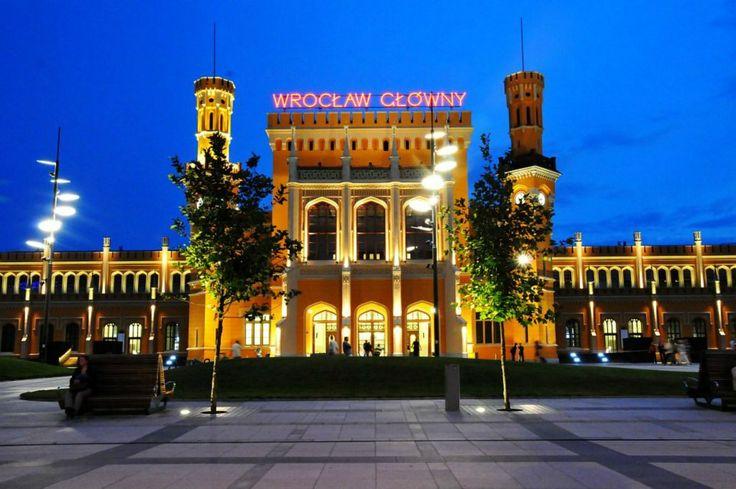 Wroclaw ( Poland) train station