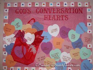 Christian Thanksgiving Bulletin Boards for Preschool | Valentine Ideas: Valentine Bulletin Board Ideas