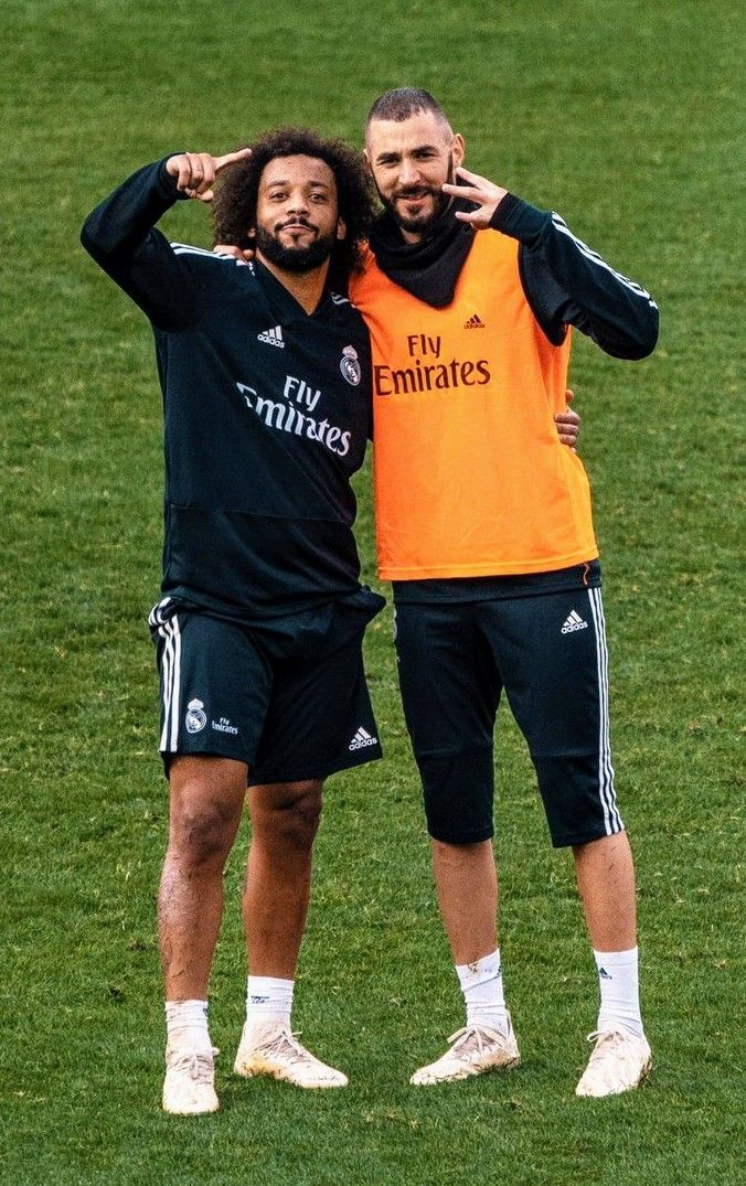 MARCELO-BENZEMA!!...training session  2a44a94aa555a