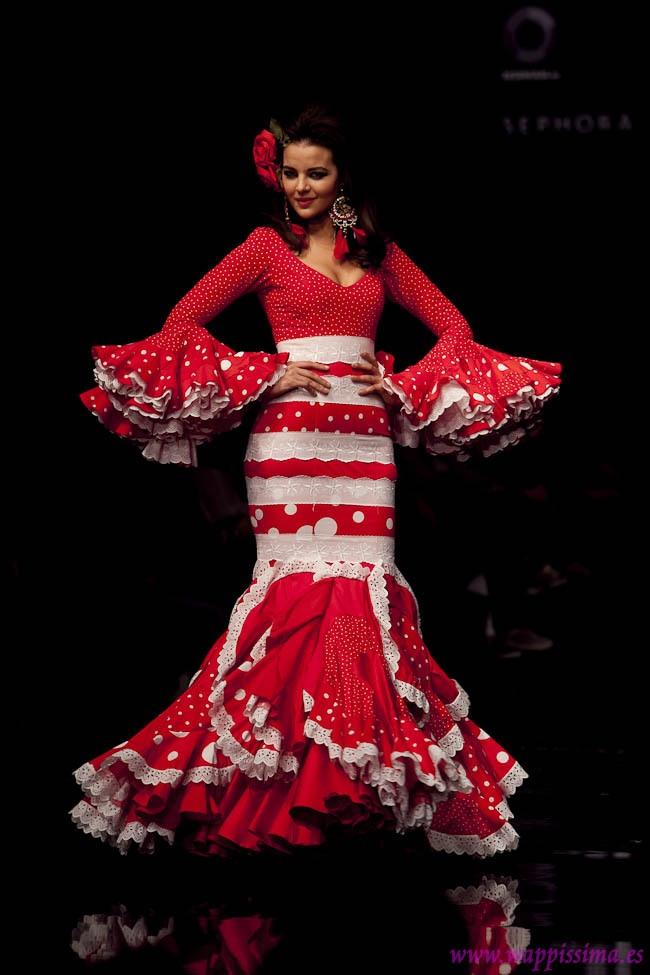 Wappíssima - Simof 2011 - Aurora Gaviño - Colección: CRISOL-Amalgama Flamenca