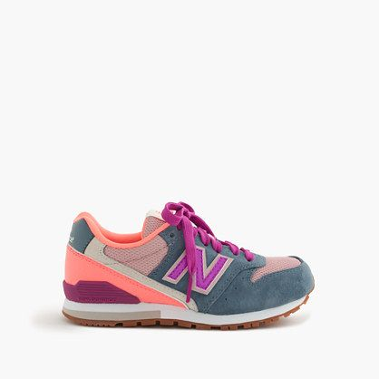 We've been fans of the New Balance 996 for a while (26 years and counting), so we collaborated on an exclusive-to-crewcuts, glow-in-the-dark sneaker you'll only find here. Talk about a perfect pair. <ul><li>Suede, nylon upper.</li><li>Cotton lining.</li><li>Rubber sole.</li><li>Import.</li></ul>