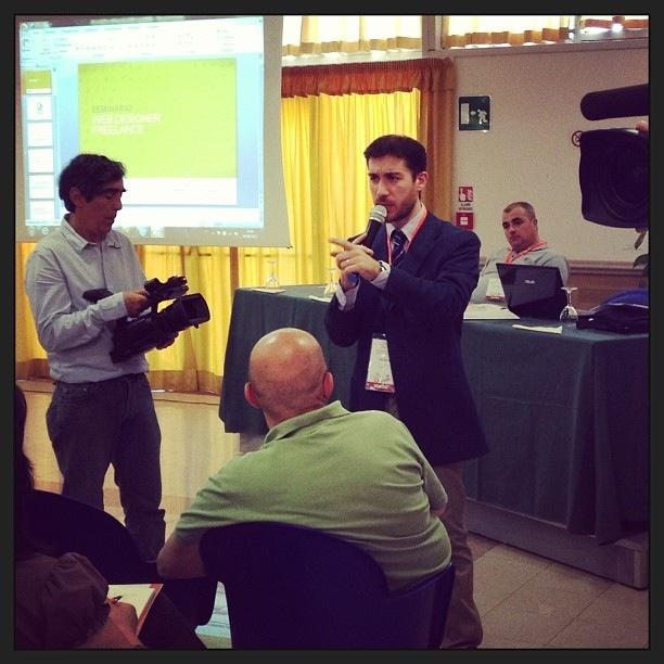 Seminario web designer freelance - Roma Con Fabio Micera relatore www.studiomicera.it