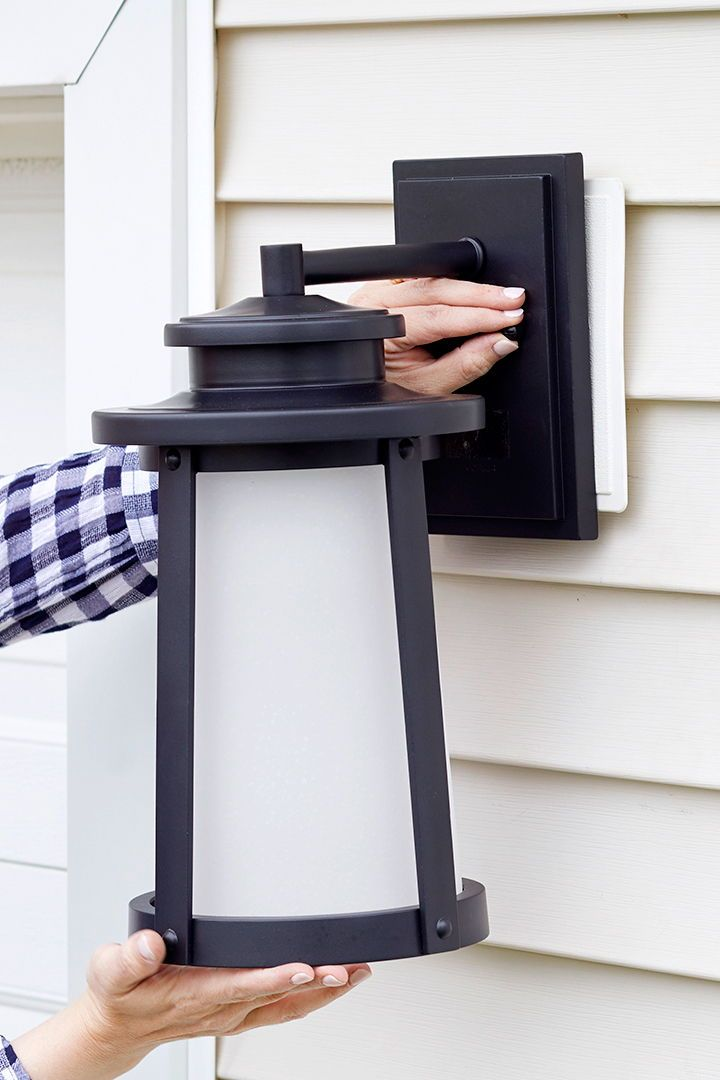 How To Replace An Outdoor Light Outdoor Light Fixtures Outdoor Lighting Exterior Light Fixtures