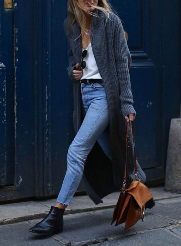 Wrap London - Blog - Get the look: Chunky Knit & Silk Cami