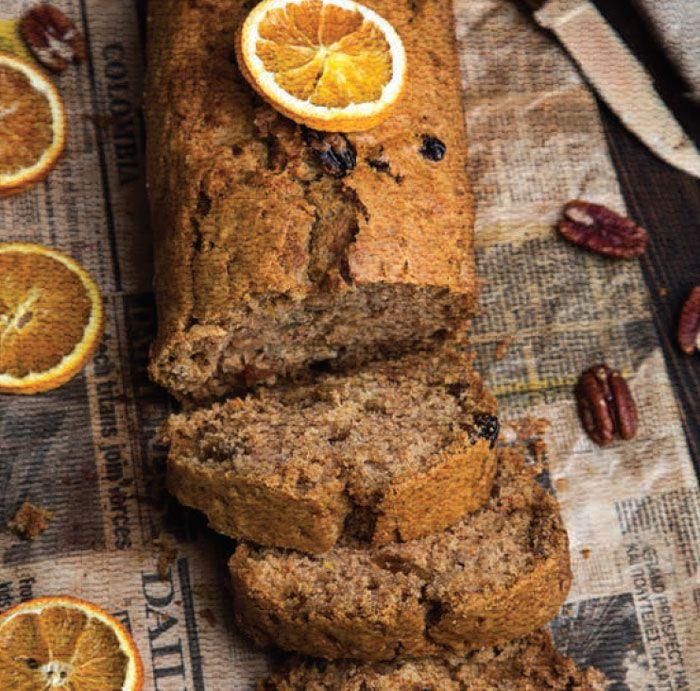Апельсиновый кекс – простой рецепт к Новому году и Рождеству #рецепт #кекс #рождество #выпечка #вкусно #новыйгод