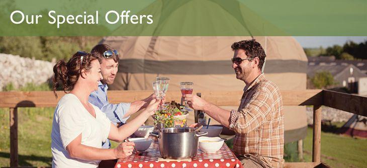 Peak District Yurt Holidays | Yurt Camping Derbyshire | Campsite Accommodation