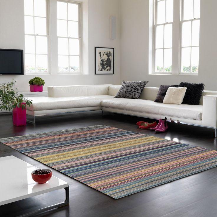 Pimlico Fine Stripe Blue Rug By Asiatic Colourful U0026 Trendy Bands, This  Pimlico Fine Stripe