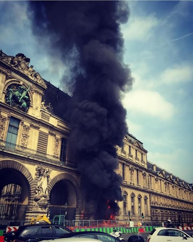 The city of Paris shares its concerns after the beloved Louvre Museum experiences flooding and a fire in the span of one week.