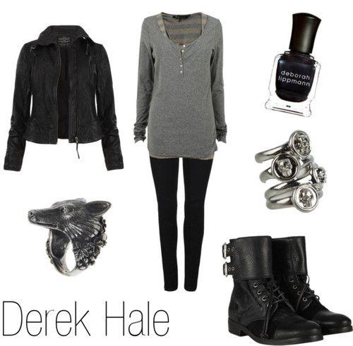 Teen Wolf derek inspired outfit!