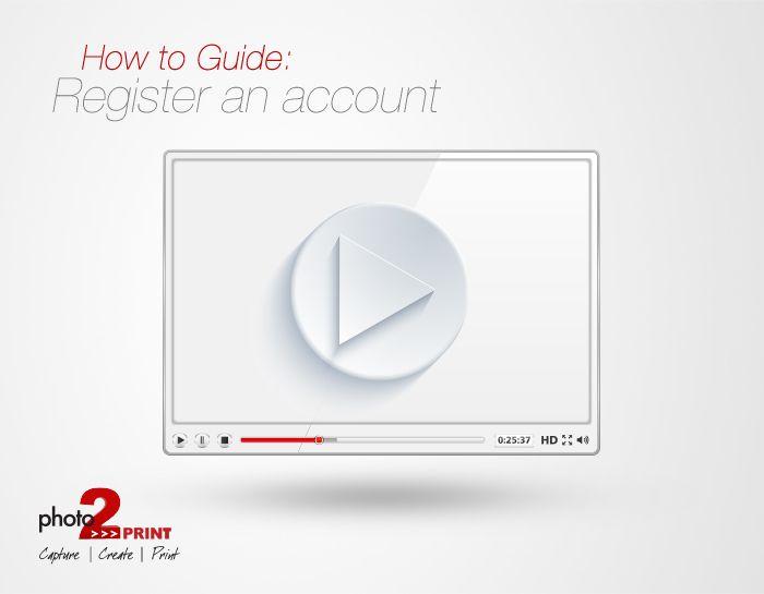 Video Tutorial: How to register an account. https://www.youtube.com/watch?v=tx0u_ZaeFFI&feature=youtu.be