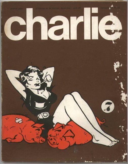 Charlie Mensuel - # 7 - Août 1969 - Couverture de Capp