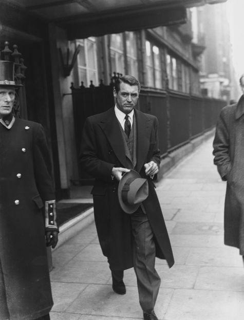 The stylish Cary Grant