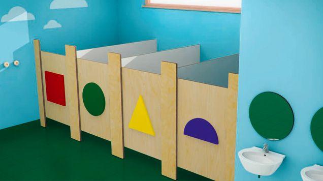 Children 39 s toilets for schools bathrooms pinterest for Preschool bathroom ideas