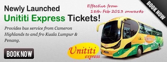Book Bus Ticket Online to and fro Singapore & Malaysia