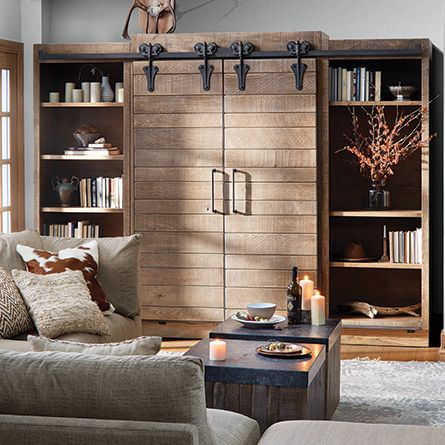 1000 Ideas About Wall Unit Decor On Pinterest Painted