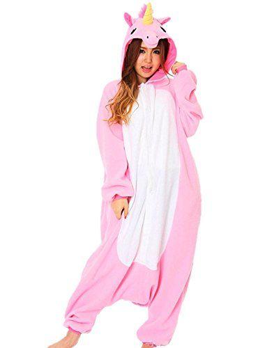 Rhh Unisex Adulto Onesie Anime Kigurumi Trajes Disfraz Cosplay Animales Pijamas Pyjamas Ropa De Dormir: Amazon.es: Ropa y accesorios