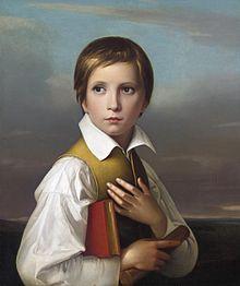 Friedrich Wilhelm von Schadow – Porträt Felix Schadow (1829)