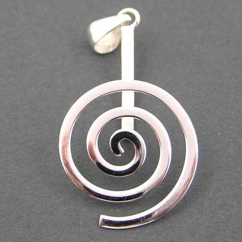 Donut - Halter Spirale 925/Sterling Silber
