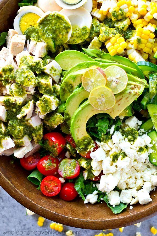 Cobb salad, Green goddess and Goddesses on Pinterest