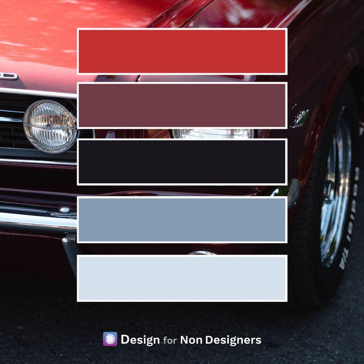 Classic Car Classic Color Palette