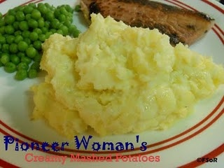 Pioneer Woman's Creamy Mashed Potatoes
