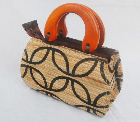 Koszyk torebka do ręki Z naturą mi do twarzy w Inna Ja Anna Przybylska na DaWanda.com