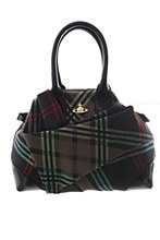 Vivienne Westwood Womens Bag Black One Size Tessuto Small