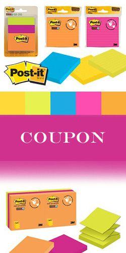 Coupon pour produits Post-it. Fin le 30 avril.  http://rienquedugratuit.ca/coupons/coupon-pour-produits-post-it/