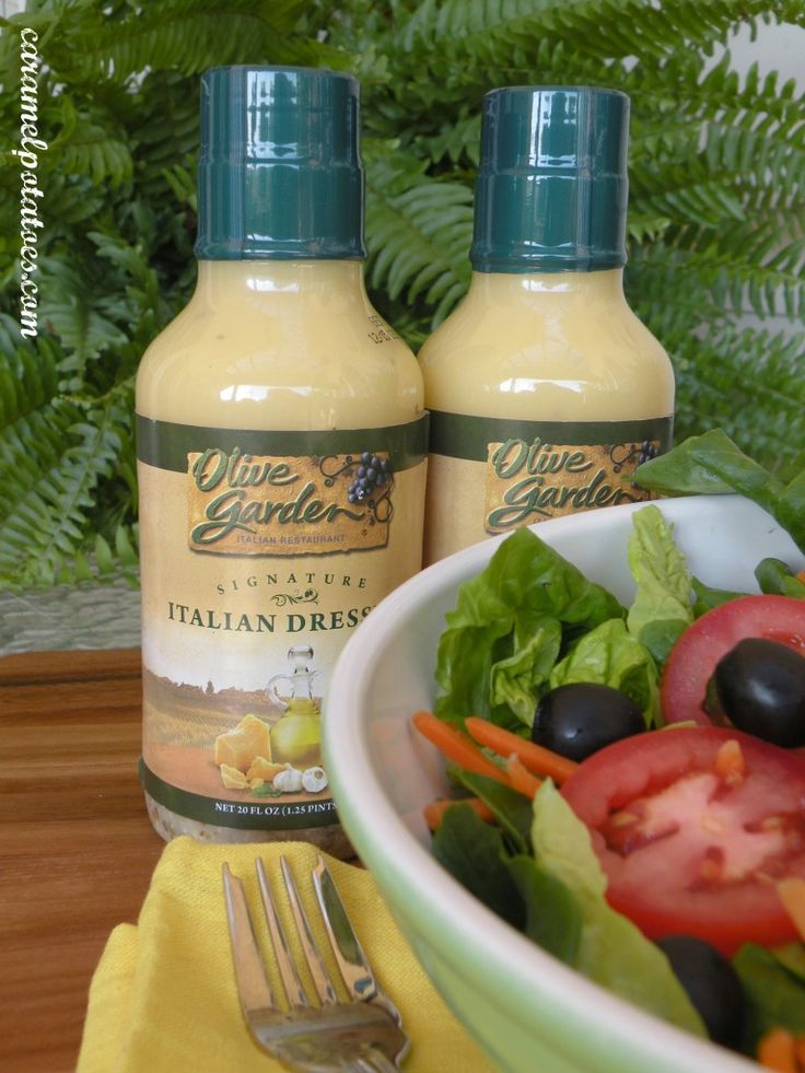 Oh!  You can buy Olive Garden Salad dressing at Sam's Club now!  Same stuff as you can get in the restaurant at a great price!!  Yum!
