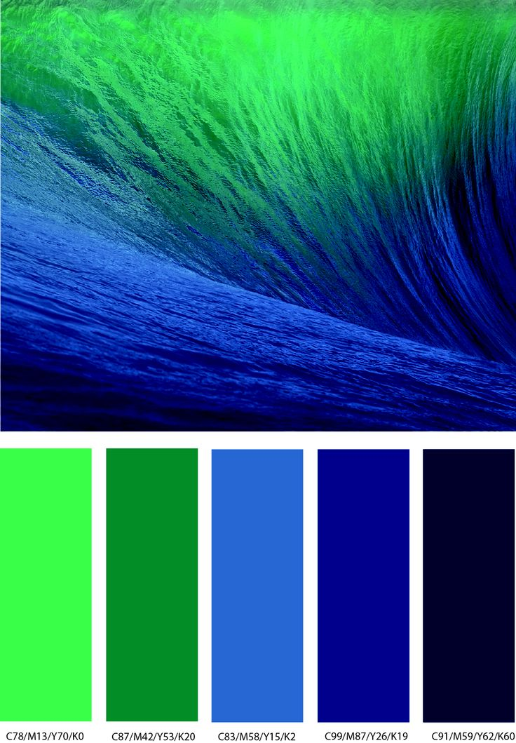 A Rich Range Of Color From Fluorescent Green To Very