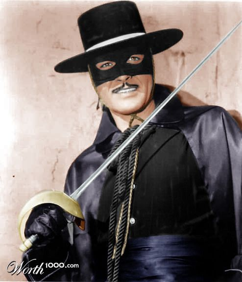 ZORRO---Guy Williams