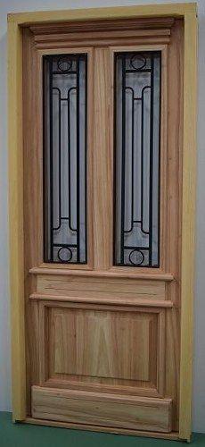 Puerta Estilo Antiguo De 0.80 X 2.00 - Fabrica - Promo