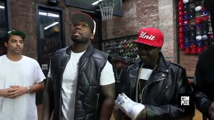 50 Cent & G-Unit Ball Out Sneaker Shopping At Flight Club With Complex