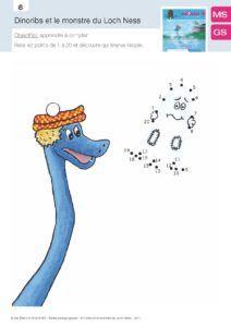 Dinoribs et le Monstre du loch Ness, fiche 05