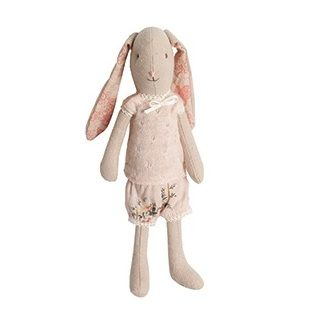 Maileg Mini Bunny The gorgeous Mini Bunny is a gorgeous addition for your Maileg collection.   Includes the printed under garments with extra outfits available to purchase seperately $36.95 #easter #bunny #gift