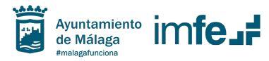 Instituto Municipal para la Formación y el Empleo del Ayuntamiento de Málaga: ofrece de forma accesible y estructurada toda aquella información relacionada con la gestión de la actividad municipal y la utilización de recursos públicos. Conocerás los eventos en twitter, facebook, youtube, blog, etc.