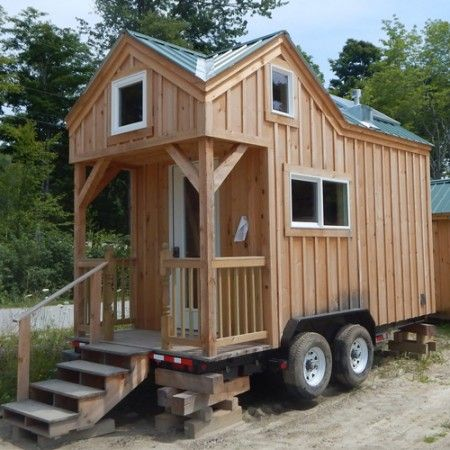 278 best teardrops trailers tiny images on pinterest for Small homes built on trailers